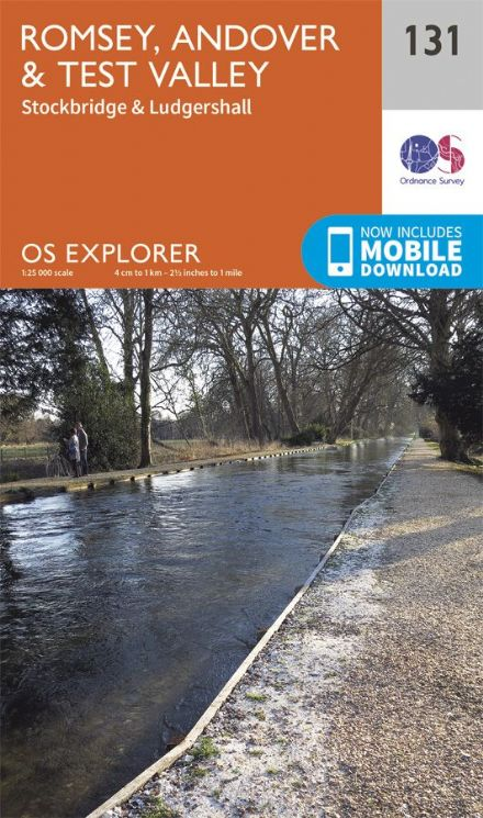 OS Explorer 131 - Romsey, Andover & Test Valley, Stockbridge & Ludgershall